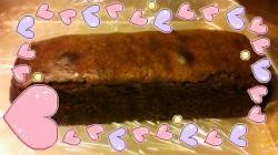 チョコブランデーケーキ?発売中です。