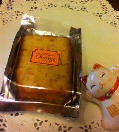 オレンジケーキカット売り新発売♪