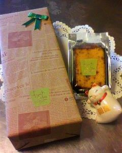 フルーツケーキのボックス新発売のお知らせ~♪