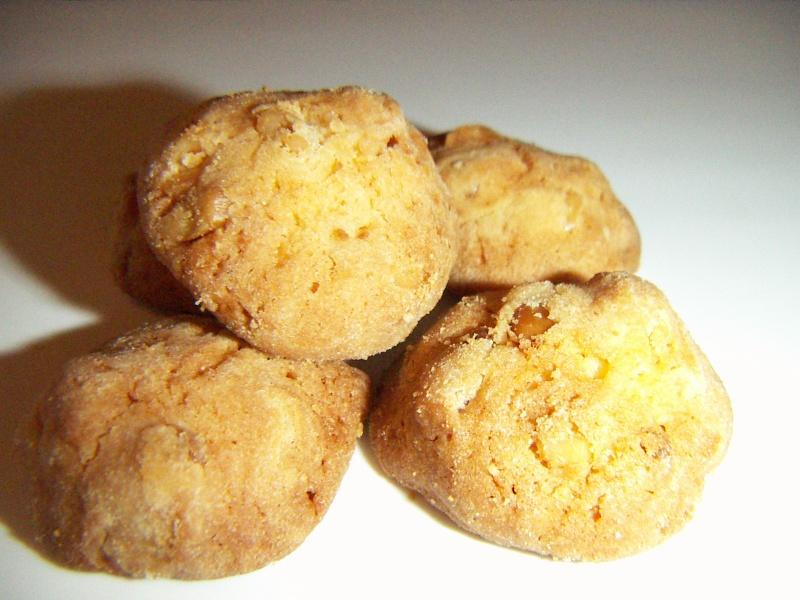 松の実クッキー